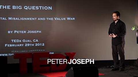 La gran pregunta, Peter Joseph