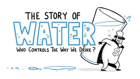 La historia del agua embotellada