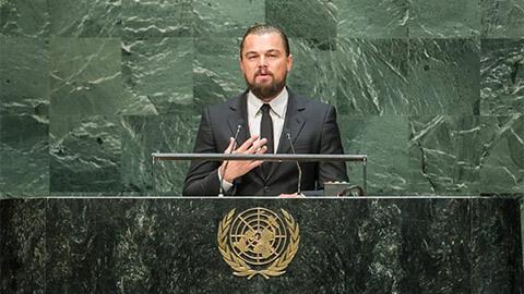 Discurso de Leonardo Dicaprio sobre el cambio climático en la ONU