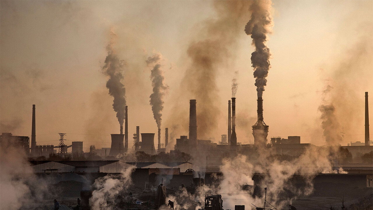 Niveles récord de concentración de gases de efecto invernadero en la atmósfera